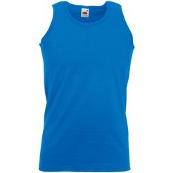 Vêtements Homme Débardeurs / T-shirts sans manche Fruit Of The Loom Athletic Bleu roi