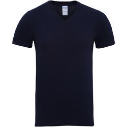 Vêtements Homme T-shirts manches courtes Gildan Premium Bleu marine