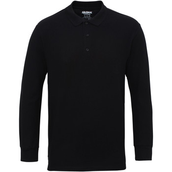 Vêtements Homme Polos manches longues Gildan 85900 Noir