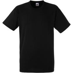 Vêtements Homme T-shirts manches courtes Fruit Of The Loom 61212 Noir