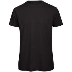 Vêtements Homme T-shirts manches courtes B And C Organic Noir