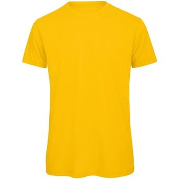 Vêtements Homme T-shirts manches courtes B And C Organic Jaune