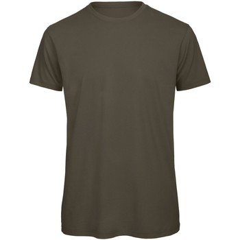 Vêtements Homme T-shirts manches courtes B And C Organic Kaki