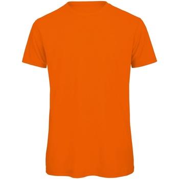 Vêtements Homme T-shirts manches courtes B And C Organic Orange