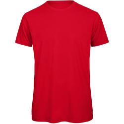 Vêtements Homme T-shirts manches courtes B And C Organic Rouge
