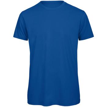 Vêtements Homme T-shirts manches courtes B And C Organic Bleu roi