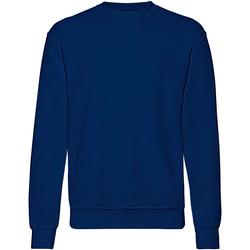 Vêtements Homme Sweats Fruit Of The Loom 62202 Bleu marine