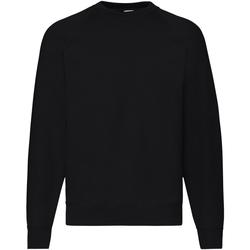 Vêtements Homme Sweats Fruit Of The Loom Raglan Noir