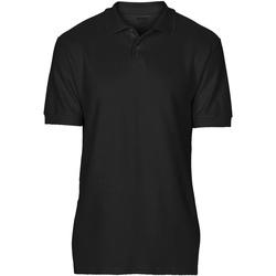 Vêtements Homme Polos manches courtes Gildan Softstyle Noir