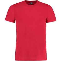 Vêtements Homme T-shirts manches courtes Kustom Kit Fashion Fit Rouge
