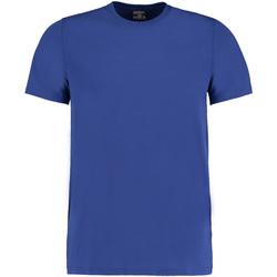 Vêtements Homme T-shirts manches courtes Kustom Kit Fashion Fit Bleu roi