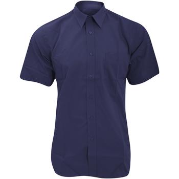 Vêtements Homme Chemises manches courtes Fruit Of The Loom 65116 Bleu marine