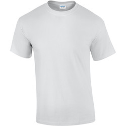 Vêtements Homme T-shirts manches courtes Gildan Ultra Blanc