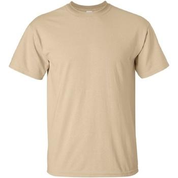 Vêtements Homme T-shirts manches courtes Gildan Ultra Fauve