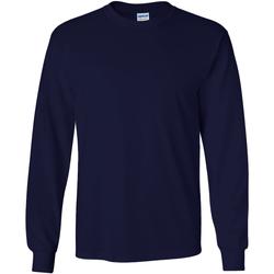 Vêtements Homme T-shirts manches longues Gildan Ultra Bleu marine