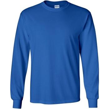 Vêtements Homme T-shirts manches longues Gildan Ultra Bleu royal