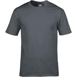 Vêtements Homme T-shirts manches courtes Gildan Premium Gris foncé