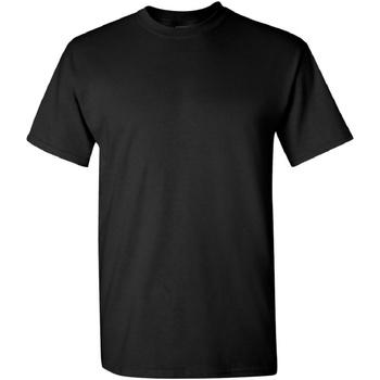 Vêtements Homme T-shirts manches courtes Gildan Heavy Noir