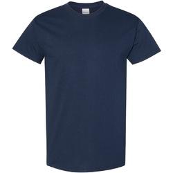 Vêtements Homme T-shirts manches courtes Gildan Heavy Bleu marine