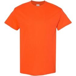 Vêtements Homme T-shirts manches courtes Gildan Heavy Orange