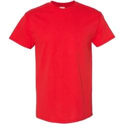 Vêtements Homme T-shirts manches courtes Gildan Heavy Rouge