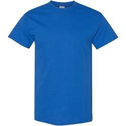 Vêtements Homme T-shirts manches courtes Gildan Heavy Bleu roi
