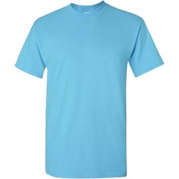 Vêtements Homme T-shirts manches courtes Gildan Heavy Bleu ciel