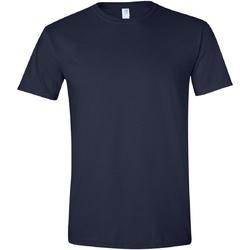 Vêtements Homme T-shirts manches courtes Gildan Soft-Style Bleu marine