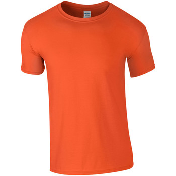Vêtements Homme T-shirts manches courtes Gildan Soft-Style Orange