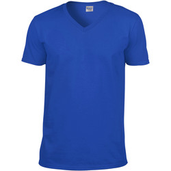 Vêtements Homme T-shirts manches courtes Gildan Soft Style Bleu royal