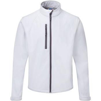 Vêtements Homme Coupes vent Russell Jerzees Colours Veste coupevent résistante à l'eau BC562 Blanc