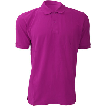 Vêtements Homme Polos manches courtes Russell 569M Fuchsia