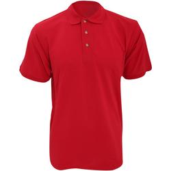 Vêtements Homme Polos manches courtes Kustom Kit Work Rouge