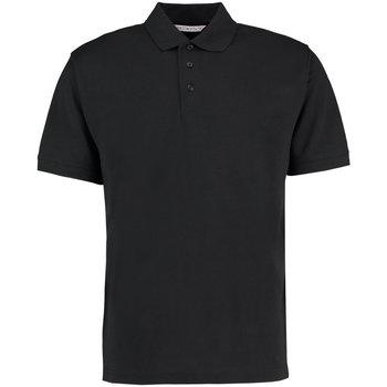 Vêtements Homme Polos manches courtes Kustom Kit KK403 Noir