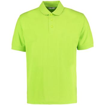 Vêtements Homme Polos manches courtes Kustom Kit KK403 Vert citron