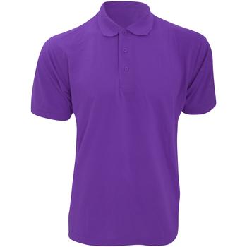 Vêtements Homme Polos manches courtes Kustom Kit KK403 Violet