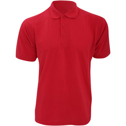 Vêtements Homme Polos manches courtes Kustom Kit KK403 Rouge