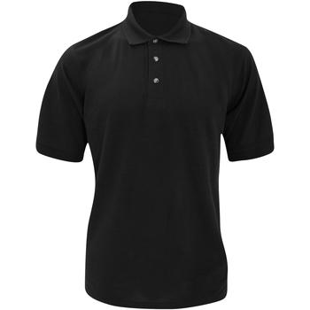 Vêtements Homme Polos manches courtes Kustom Kit Chunky Noir
