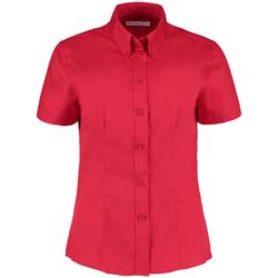 Vêtements Femme Chemises / Chemisiers Kustom Kit KK701 Rouge