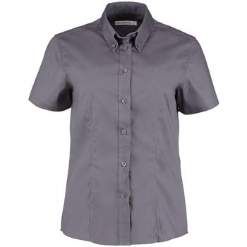 Vêtements Femme Chemises / Chemisiers Kustom Kit Oxford Gris foncé