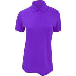 Vêtements Femme Polos manches courtes Kustom Kit Klassic Violet