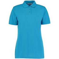 Vêtements Femme Polos manches courtes Kustom Kit Klassic Turquoise