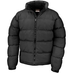 Vêtements Homme Doudounes Result R181M Noir