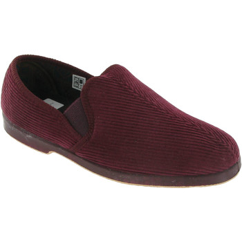 Chaussures Homme Chaussons Gbs Gusset Rouge foncée
