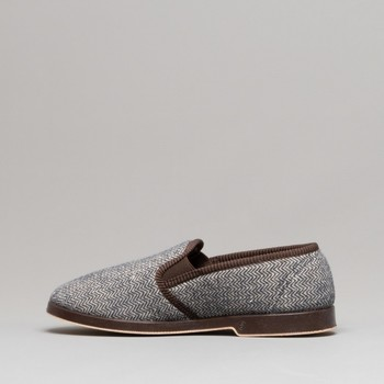Chaussures Homme Chaussons Gbs Gusset Marron