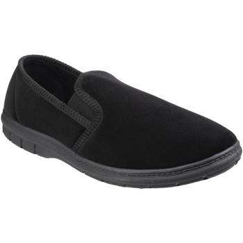 Chaussures Homme Chaussons Fleet & Foster Gusset Noir
