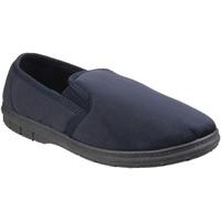 Chaussures Homme Chaussons Fleet & Foster Gusset Bleu marine