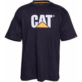 Vêtements Homme T-shirts manches courtes Caterpillar  Noir