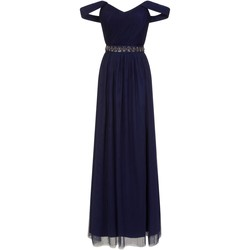 Vêtements Femme Robes longues Little Mistress  Bleu marine
