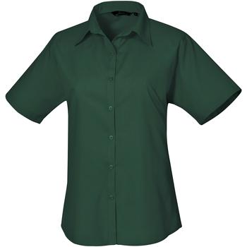 Vêtements Femme Chemises / Chemisiers Premier PR302 Vert bouteille